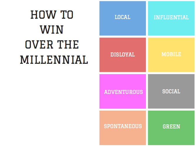 How to win over the millennial