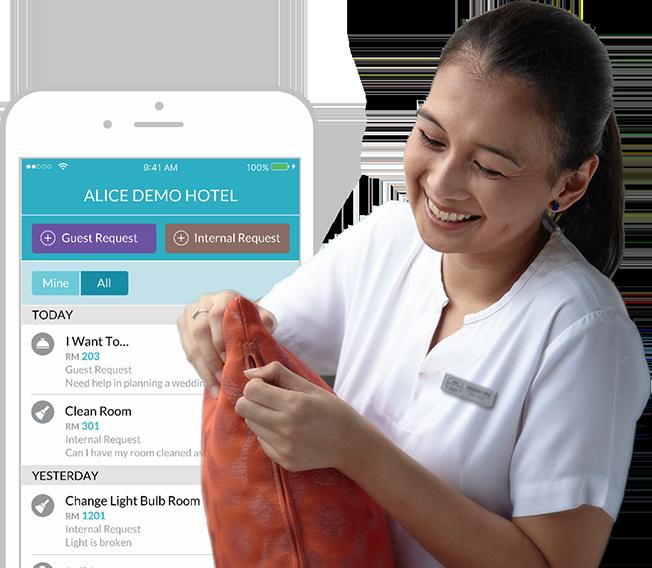 Avatar 2 Hotel: Hotel Staff Technology