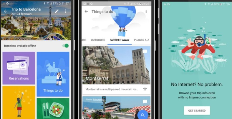 Google shows its potential to ruin the dreams of travel destination apps.