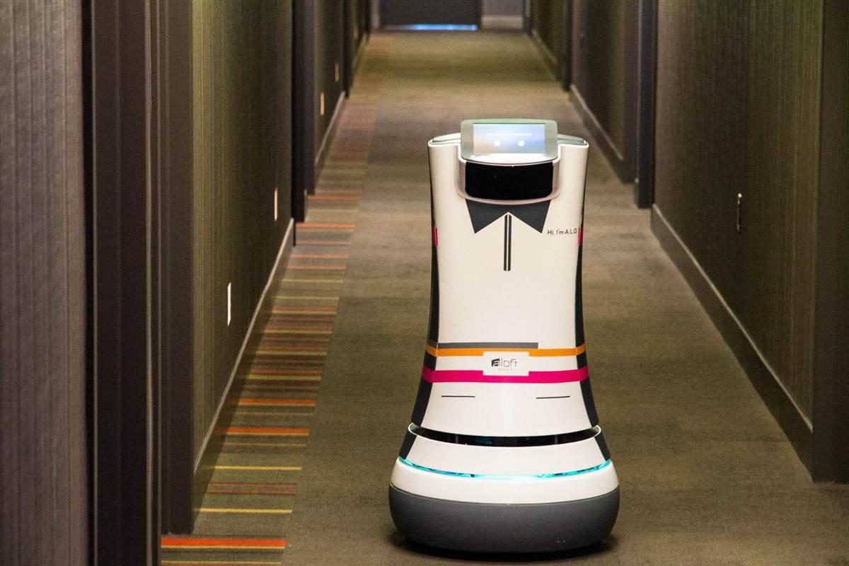 Starwood Hotel's Robot Butler